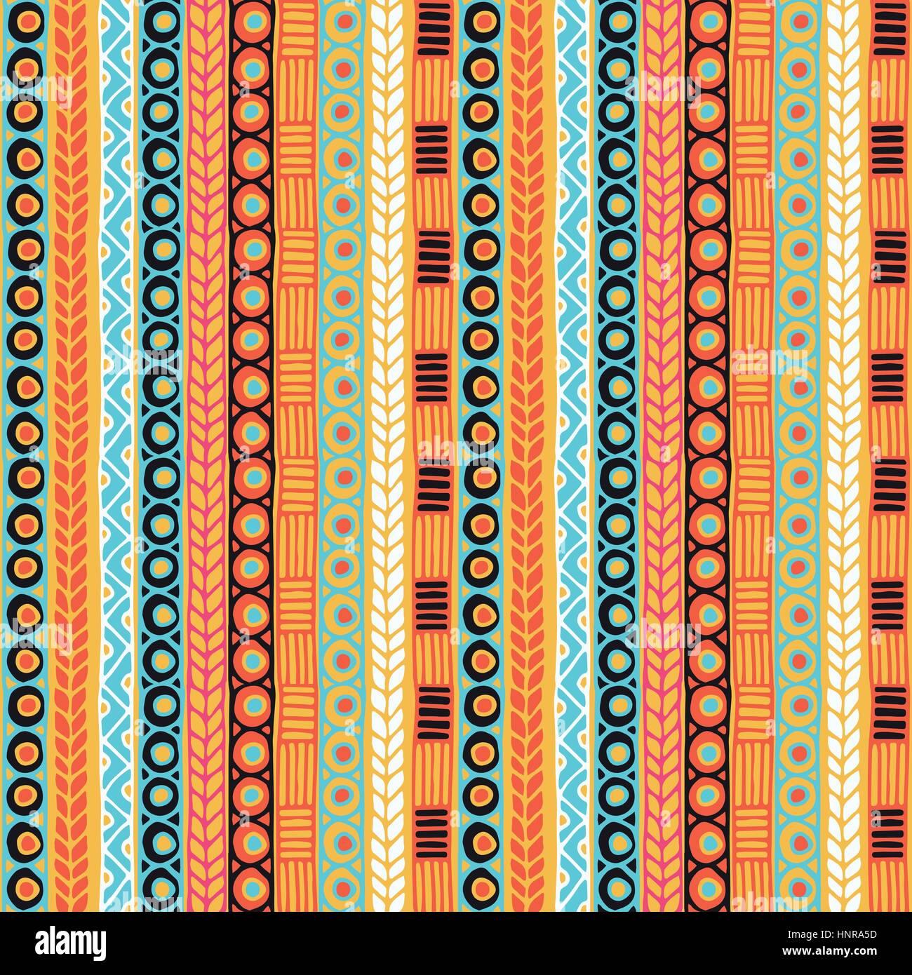 Ethnicity seamless pattern. Boho style. Ethnic wallpaper ...