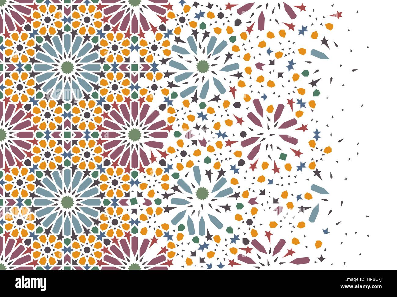 Arabesque Style Decoration Of Arabesque Traditional Arabian Mosaic Tile Seamless
