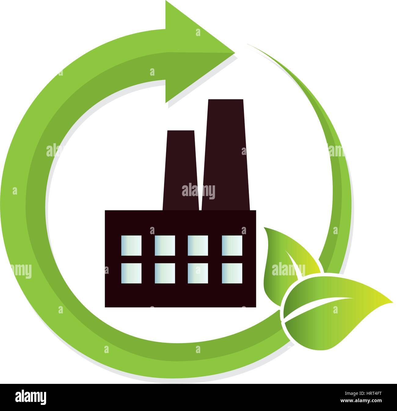 green factory building icon stock vector art illustration vector image 135140092 alamy. Black Bedroom Furniture Sets. Home Design Ideas
