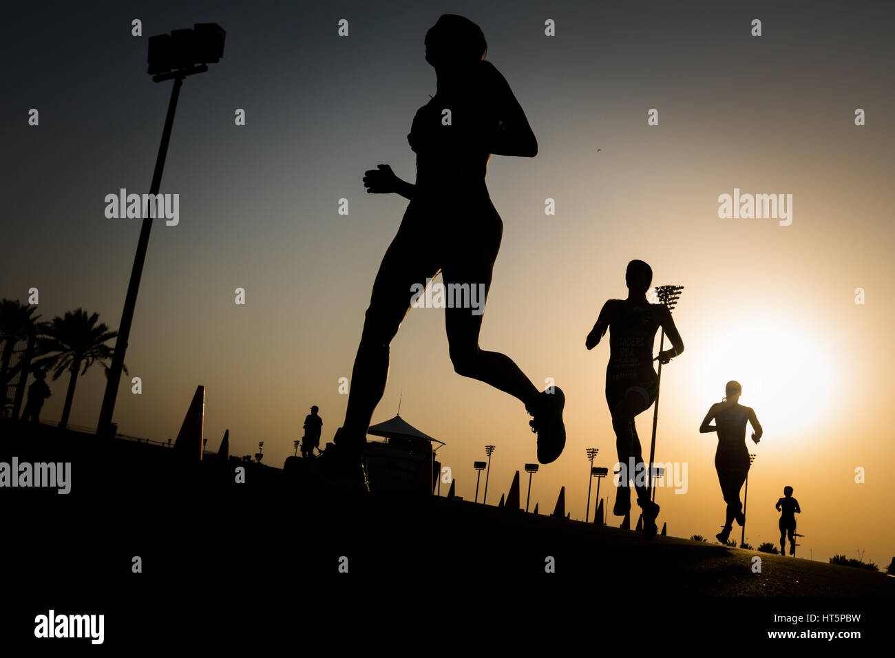 triathlon Stock Foto