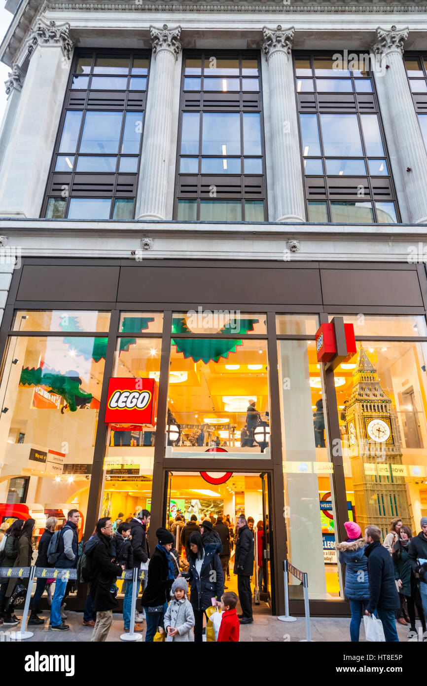 England london leicester square lego store stock photo royalty free image - Boutique lego londres ...