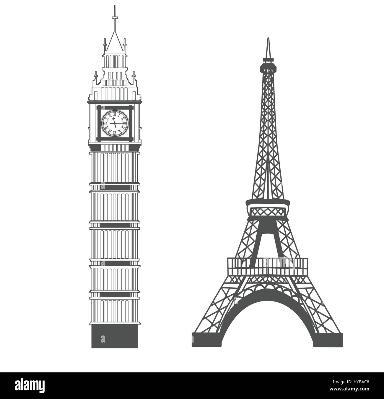 comparing the architectures of the houses of parliament eiffel tower and the white house The eiffel tower effect trope as used in popular culture the houses of parliament the white house and capitol building are also well-known presences.