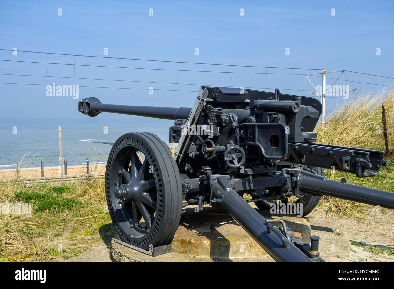 German 50 Mm Anti Tank Gun: German World War II Pak 40 75 Mm Anti-tank Gun At