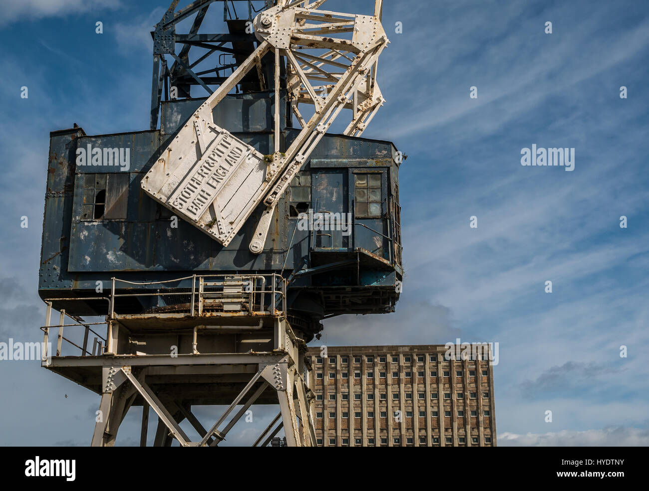 disused-stothert-and-pitt-dockside-crane