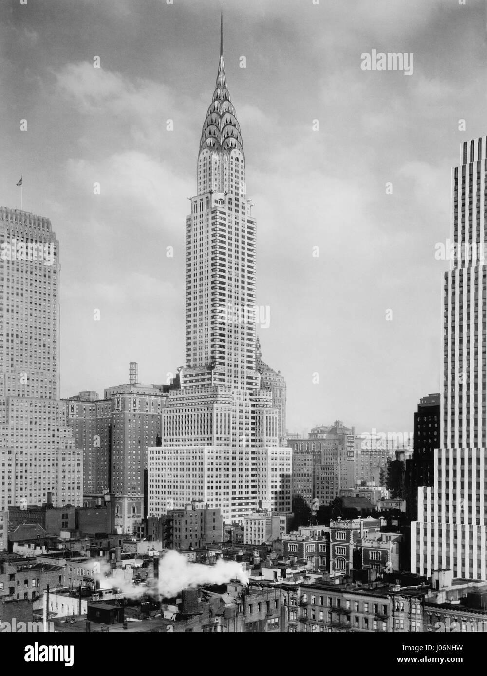 Chrysler Building, New York City, New York, USA, Detroit ...