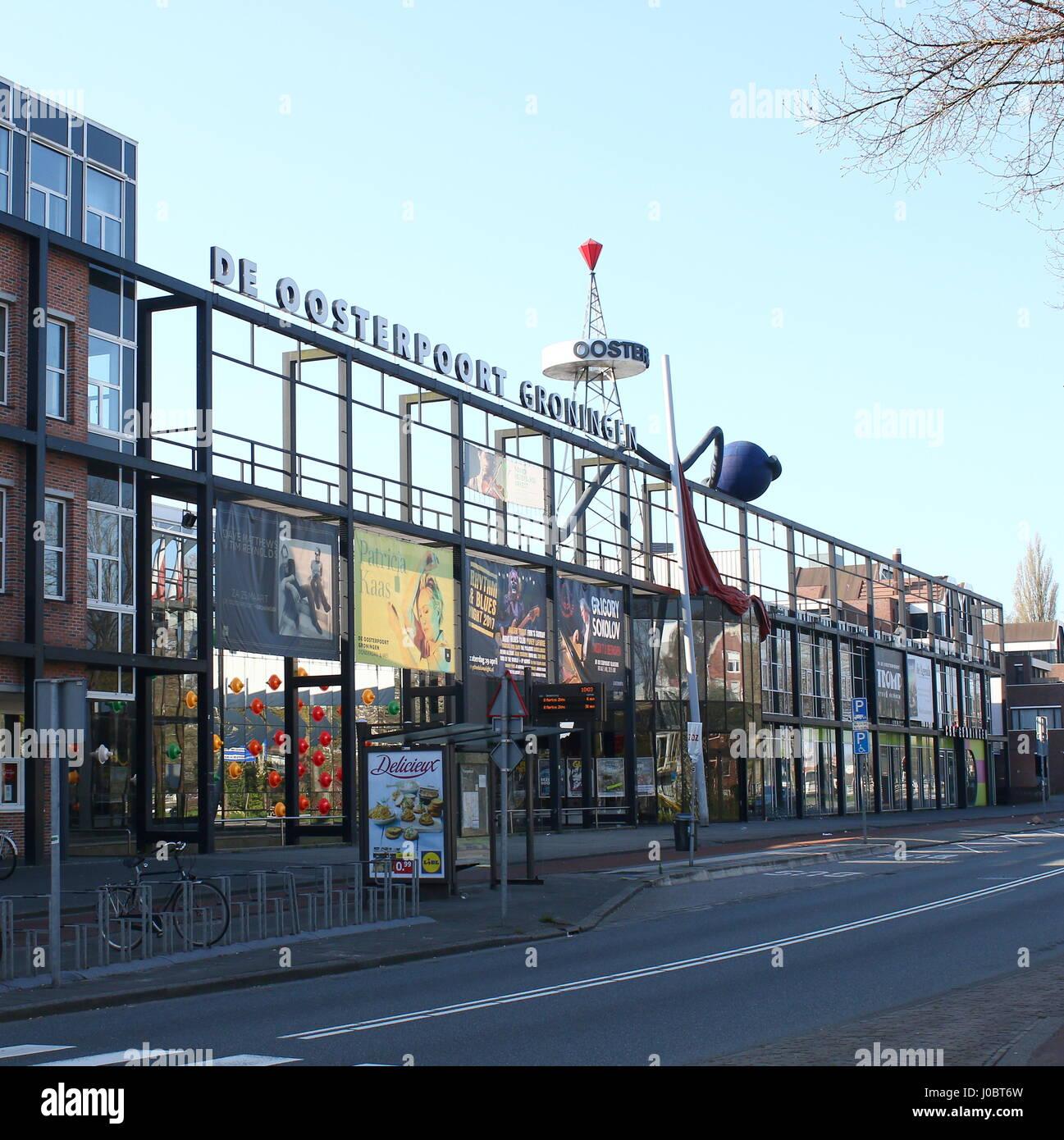 cultural centre de oosterpoort groningen netherlands music and stock photo 137943425 alamy. Black Bedroom Furniture Sets. Home Design Ideas