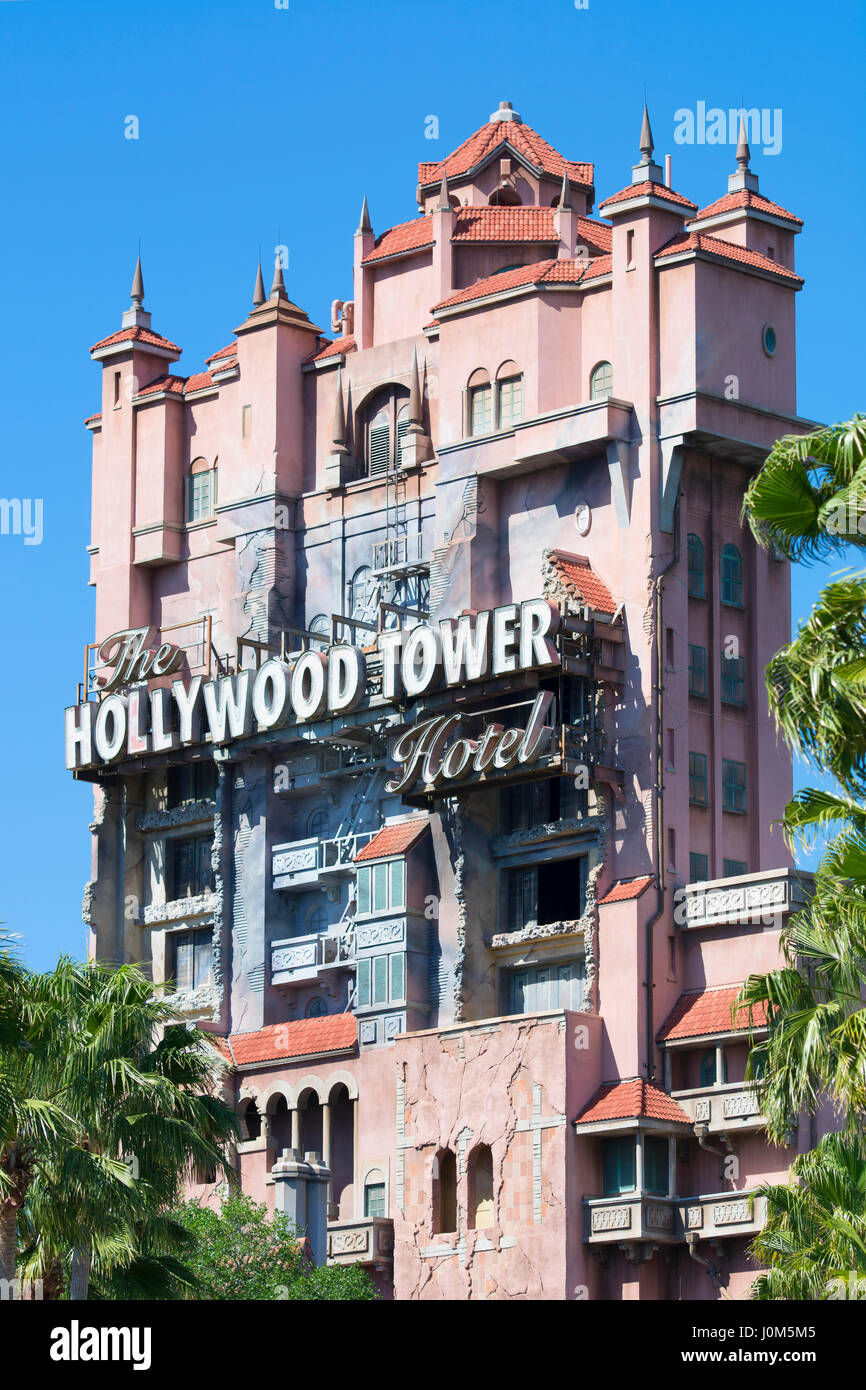 Hollywood Tower Hotel, Hollywood Studios Disney World