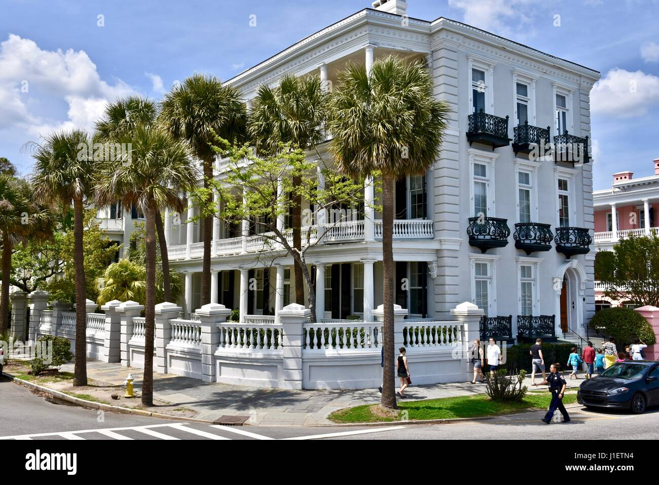 East Battery Street Charleston South Carolina Colonial