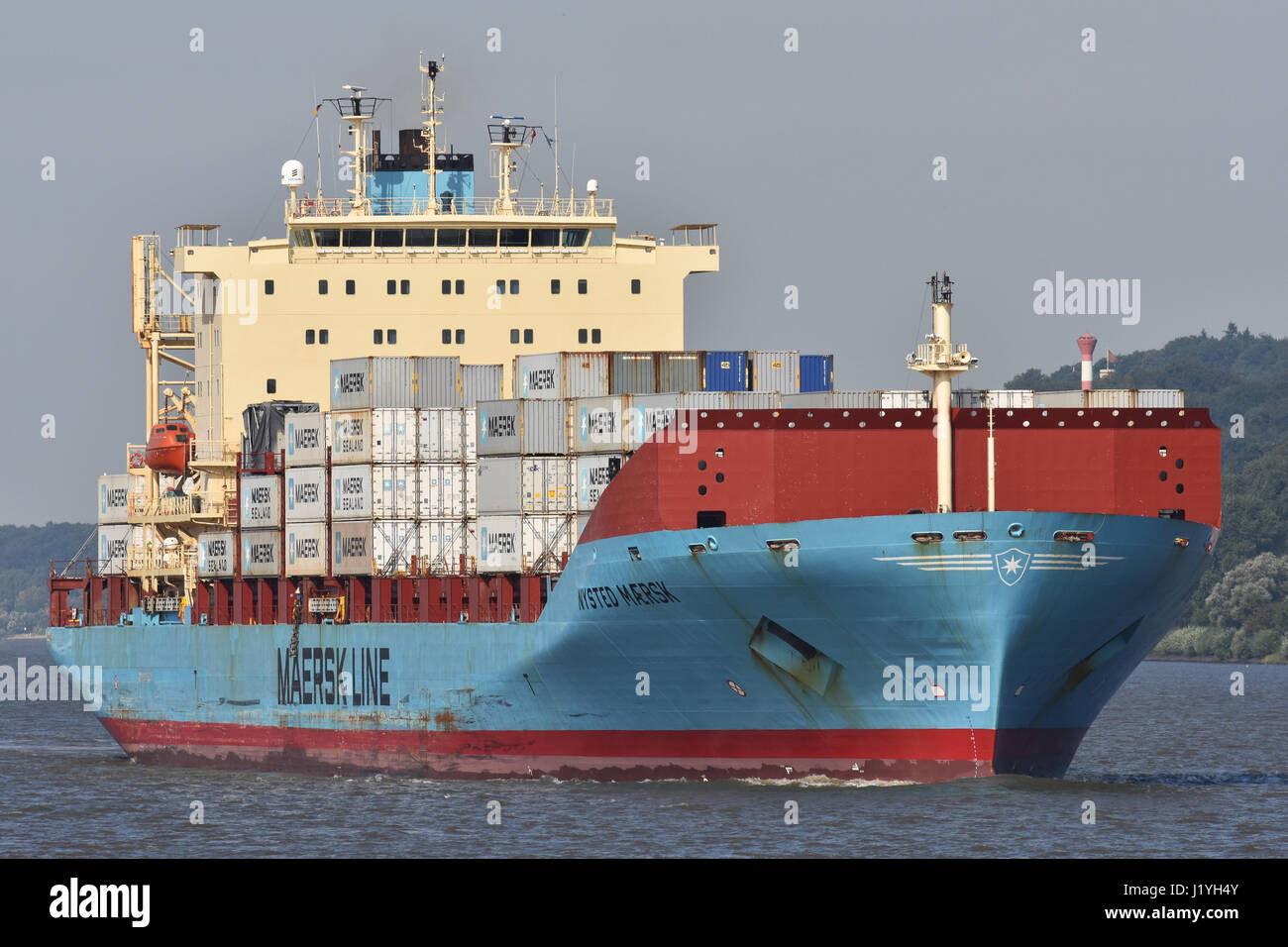 Nysted Maersk Stock Photo