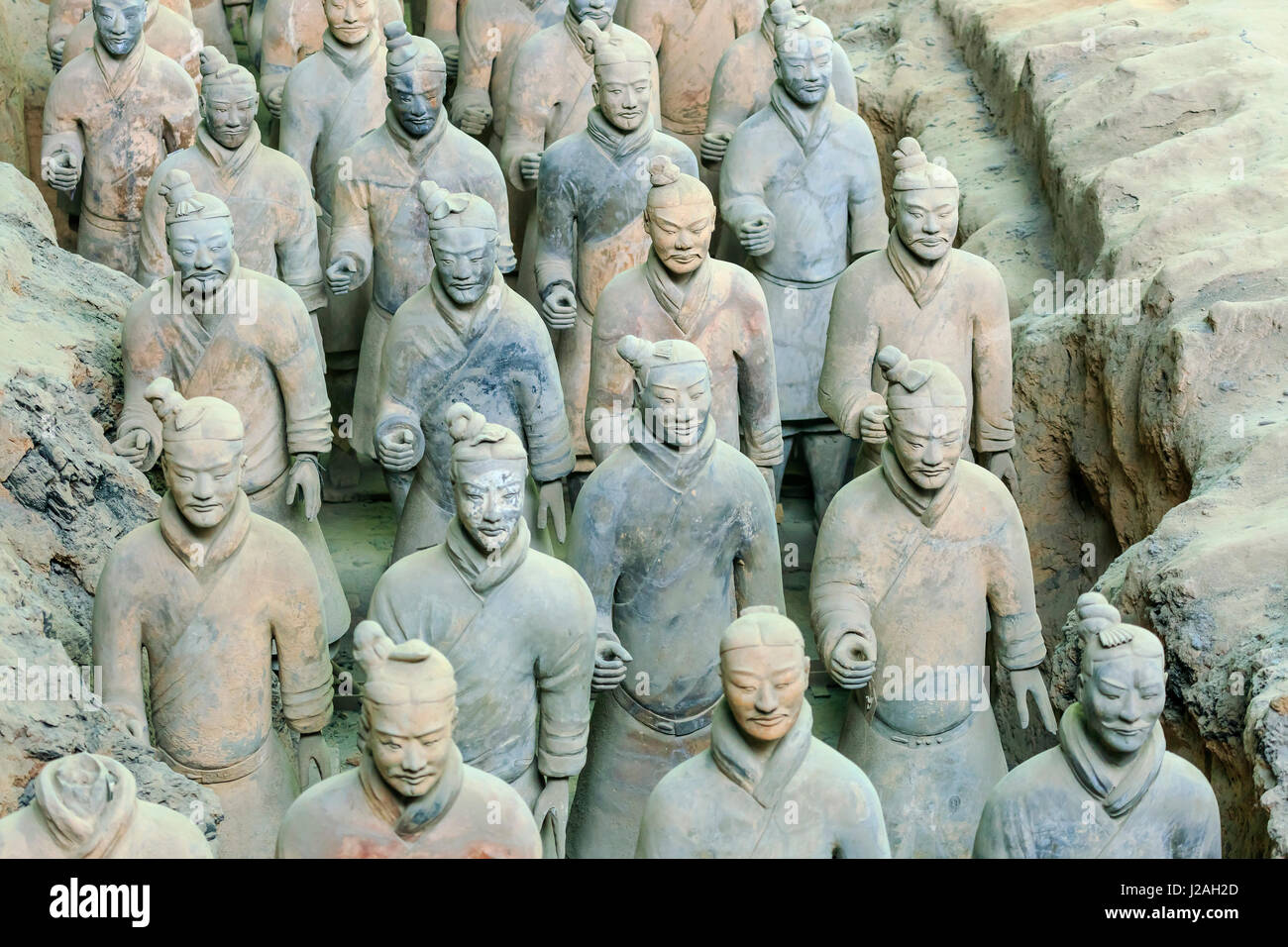 terracotta army fake paper