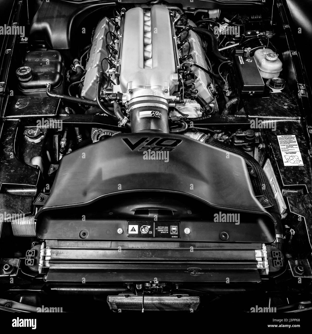 stuttgart germany march 03 2017 engine of sports car. Black Bedroom Furniture Sets. Home Design Ideas