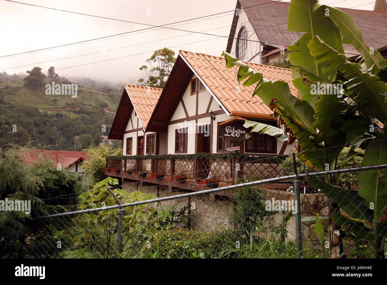 Venezuela Colonia Tovar German Colony Houses