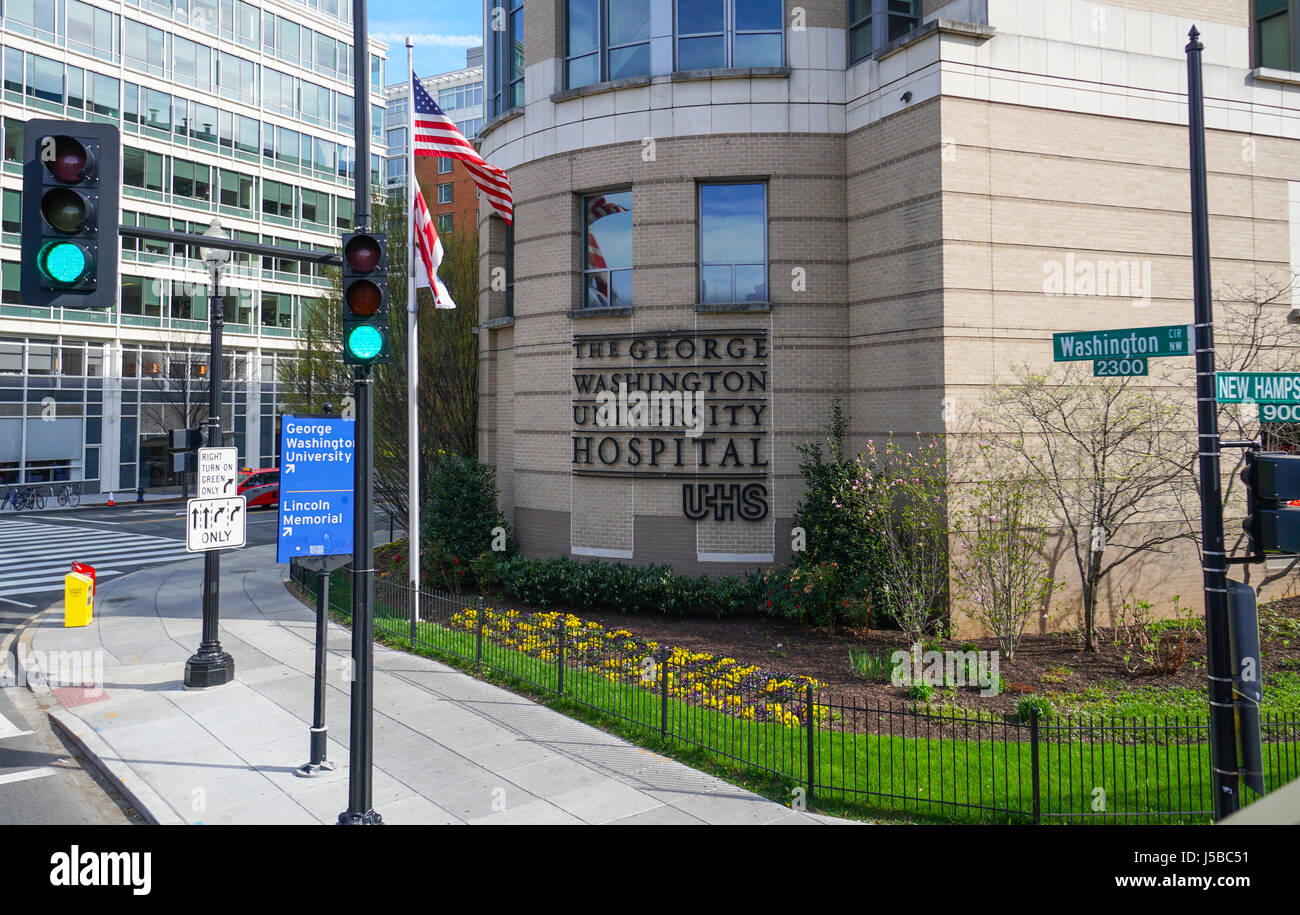 George Washington Hospital Emergency Room Address