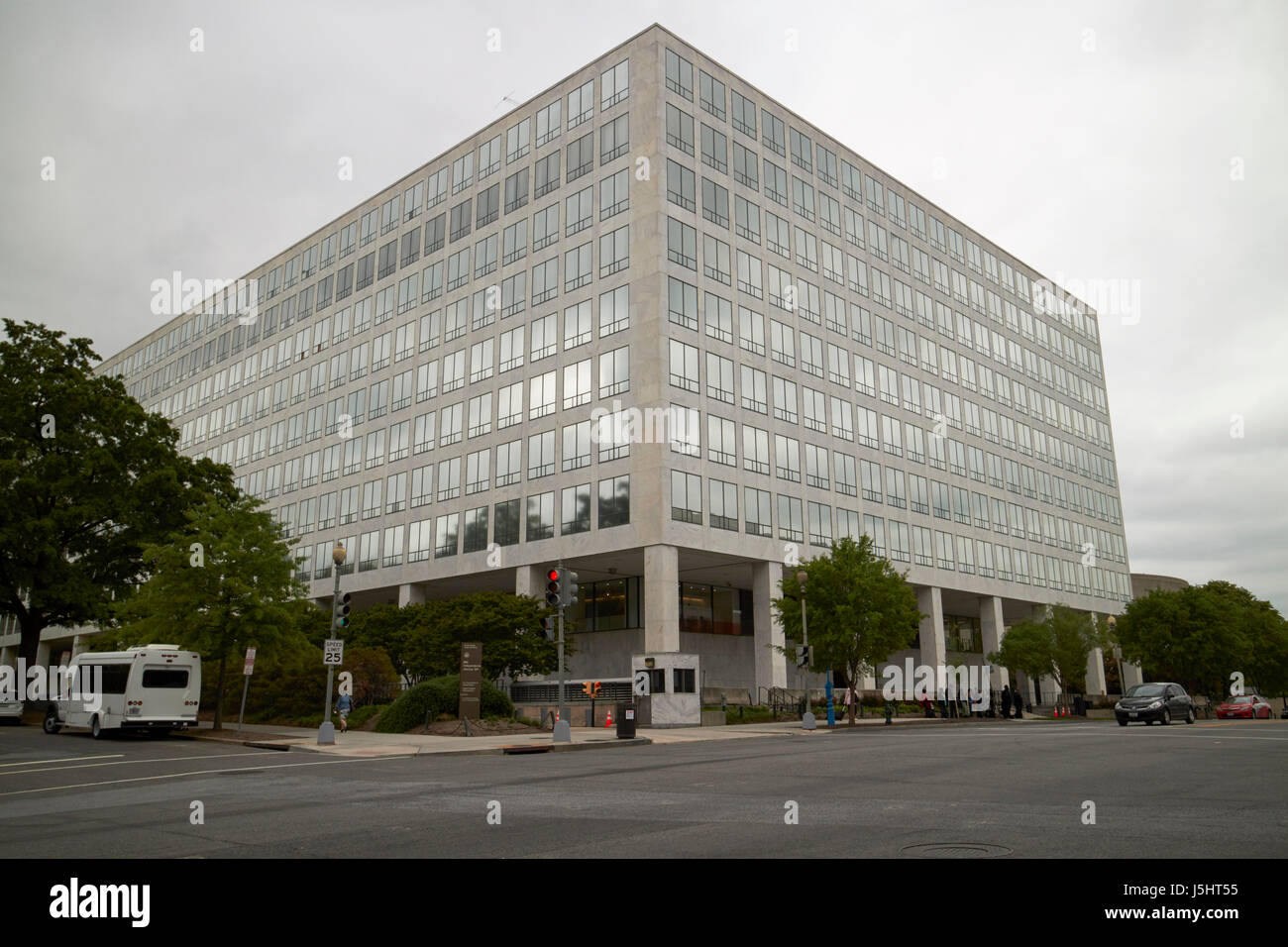 Orville Wright federal building faa federal aviation administration Washington DC USA - Stock Image