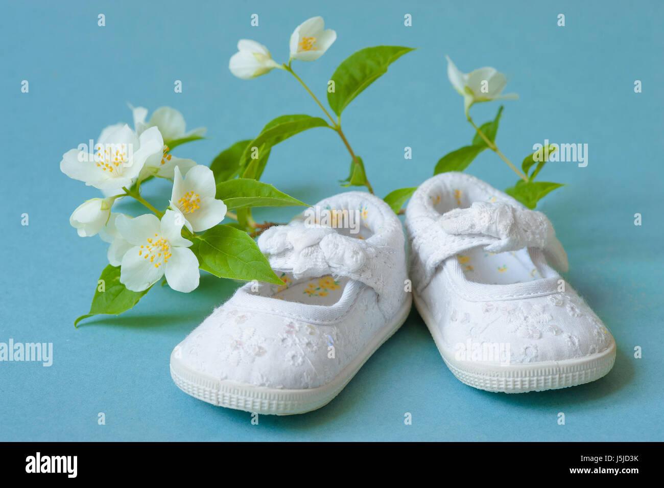 baby shower decoration - Stock Image