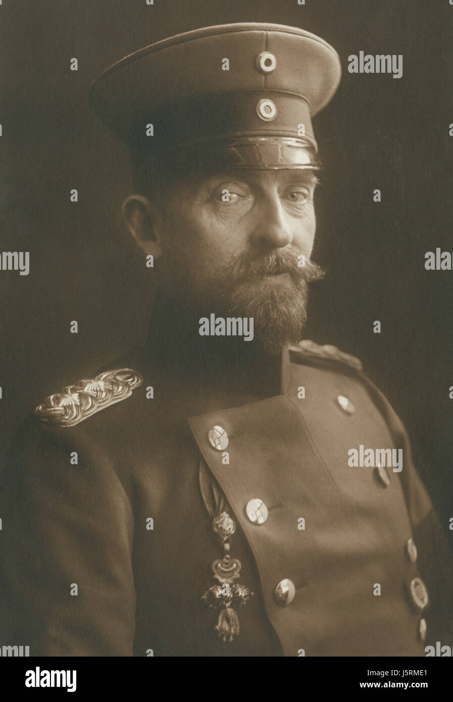 Ferdinand I (1865-1927), King of Romania 1914-27, Portrait, 1915 - Stock Image