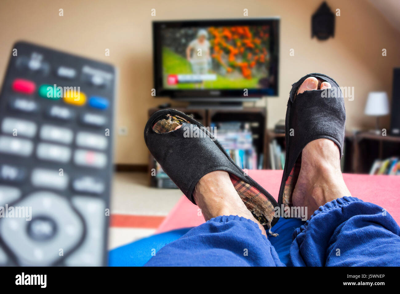 remote-control-and-couch-potato-lazy-man