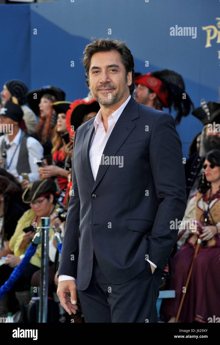 Los Angeles, CA, USA. 18th May, 2017. Javier Bardem at arrivals for PIRATES OF THE CARIBBEAN: DEAD MEN TELL NO TALES - Stock Image
