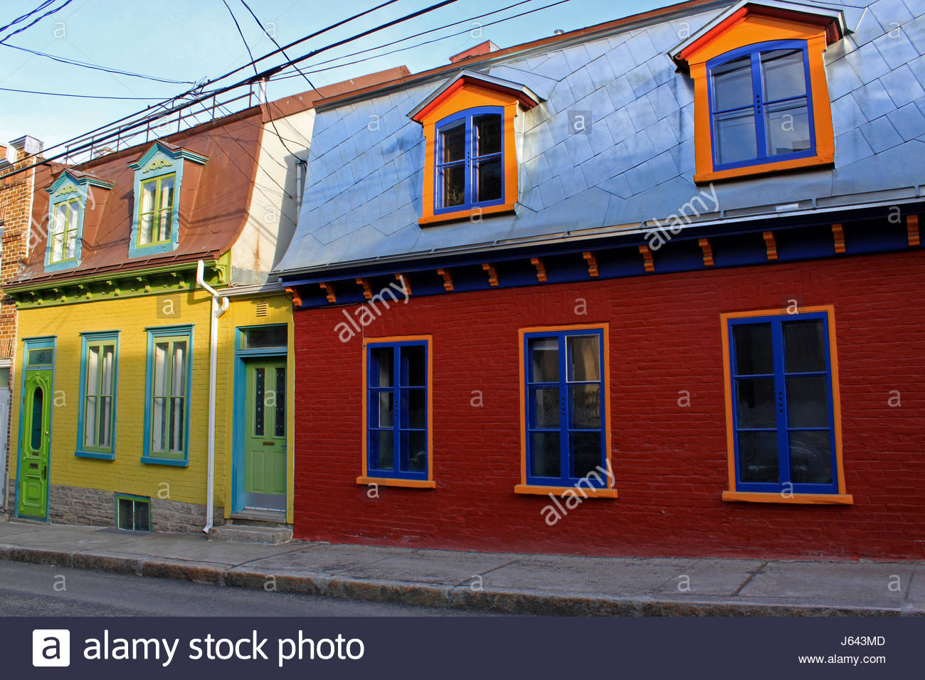 Quebec ville maison ancienne typique dans vieille ville for Piscine radiant quebec
