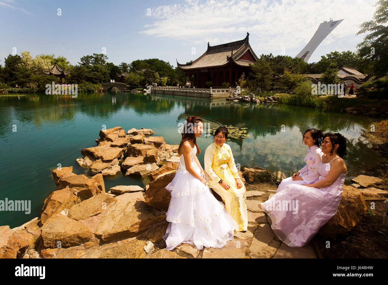 Mariee stock photos mariee stock images alamy for Au jardin les amis singapore botanic gardens