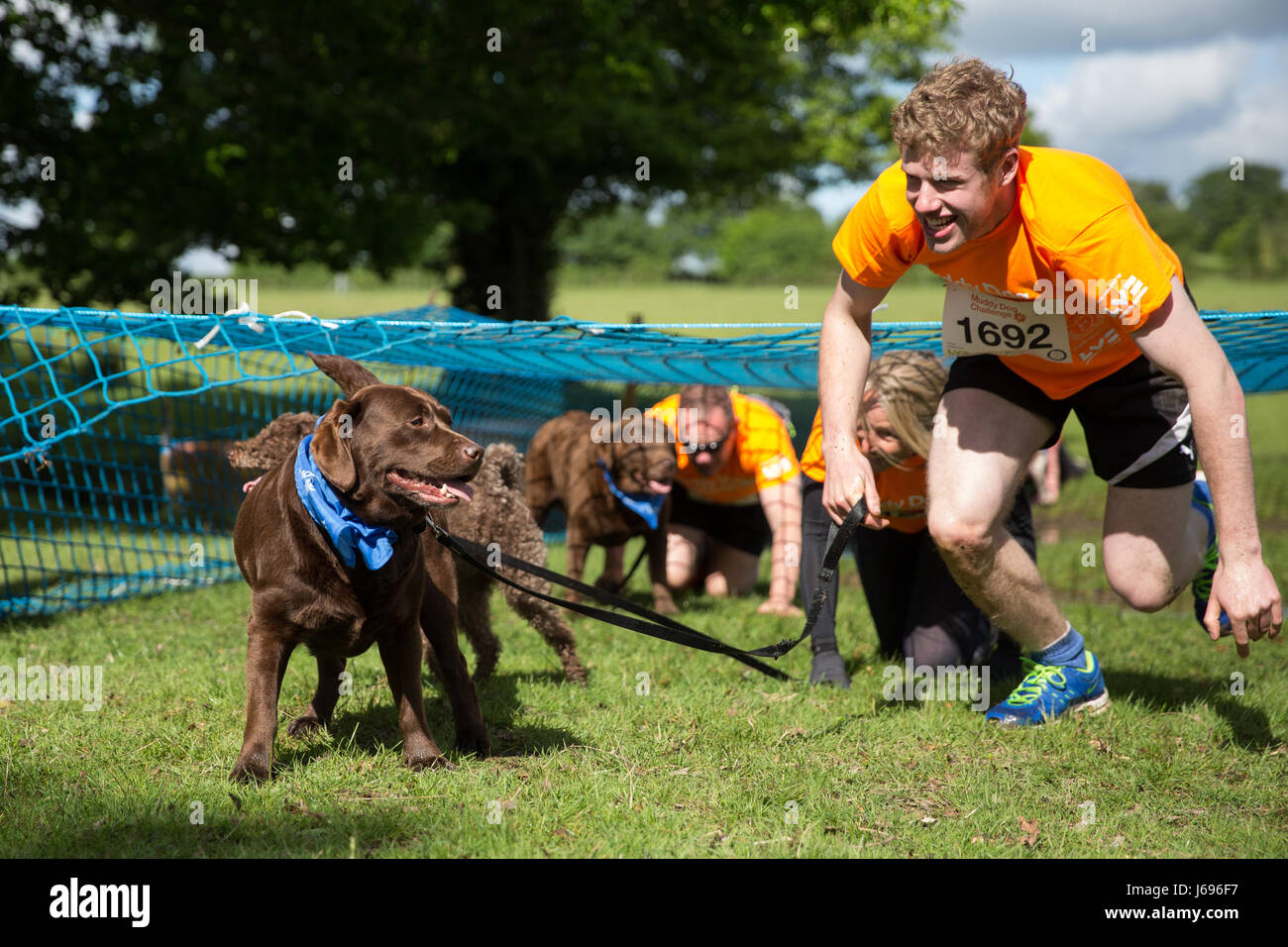 Muddy Dog Challenge At Windsor Great Park