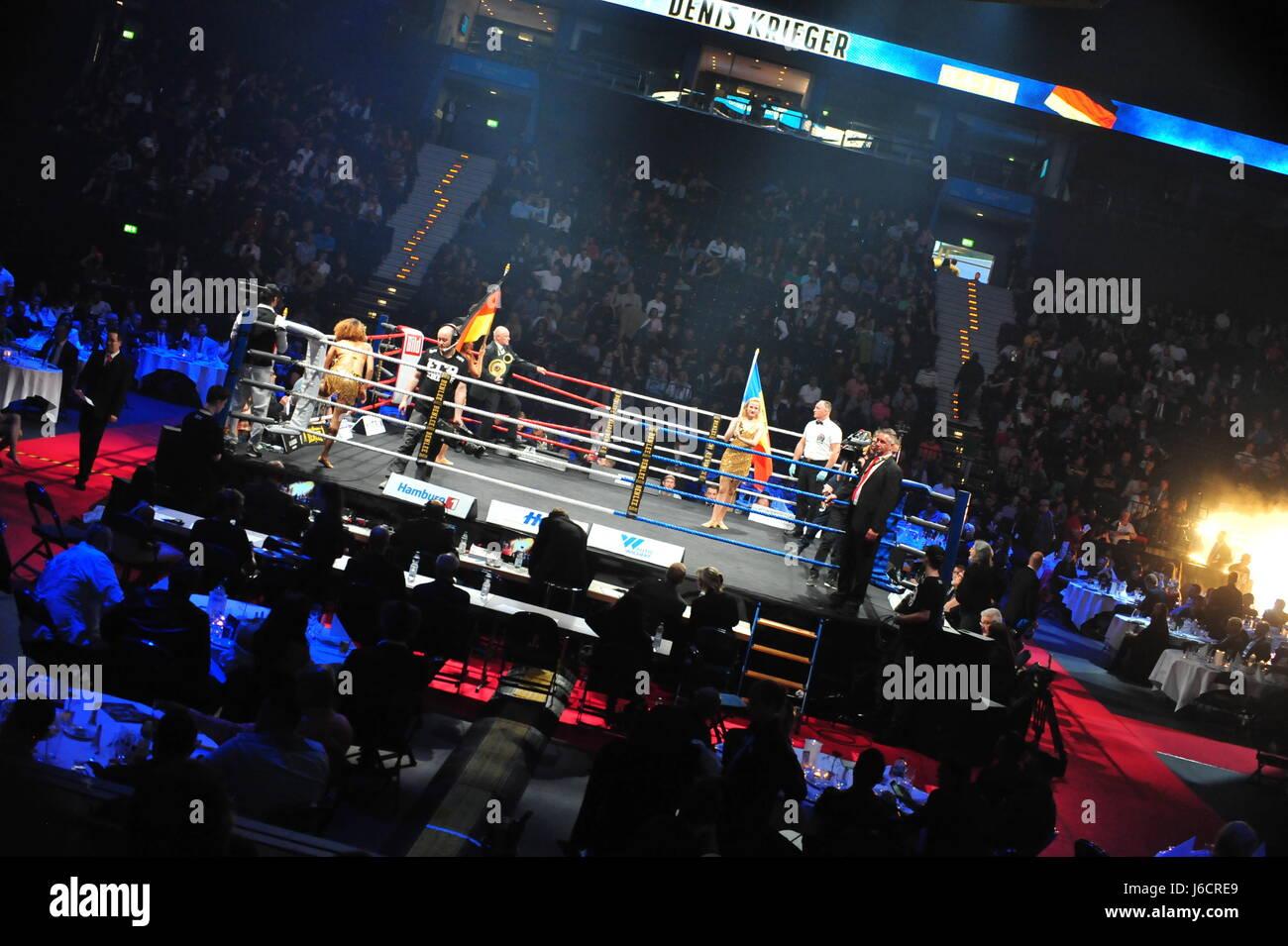 EC Boxing Event, Barclaycard Arena, Hamburg, Deutschland - Stock-Bilder