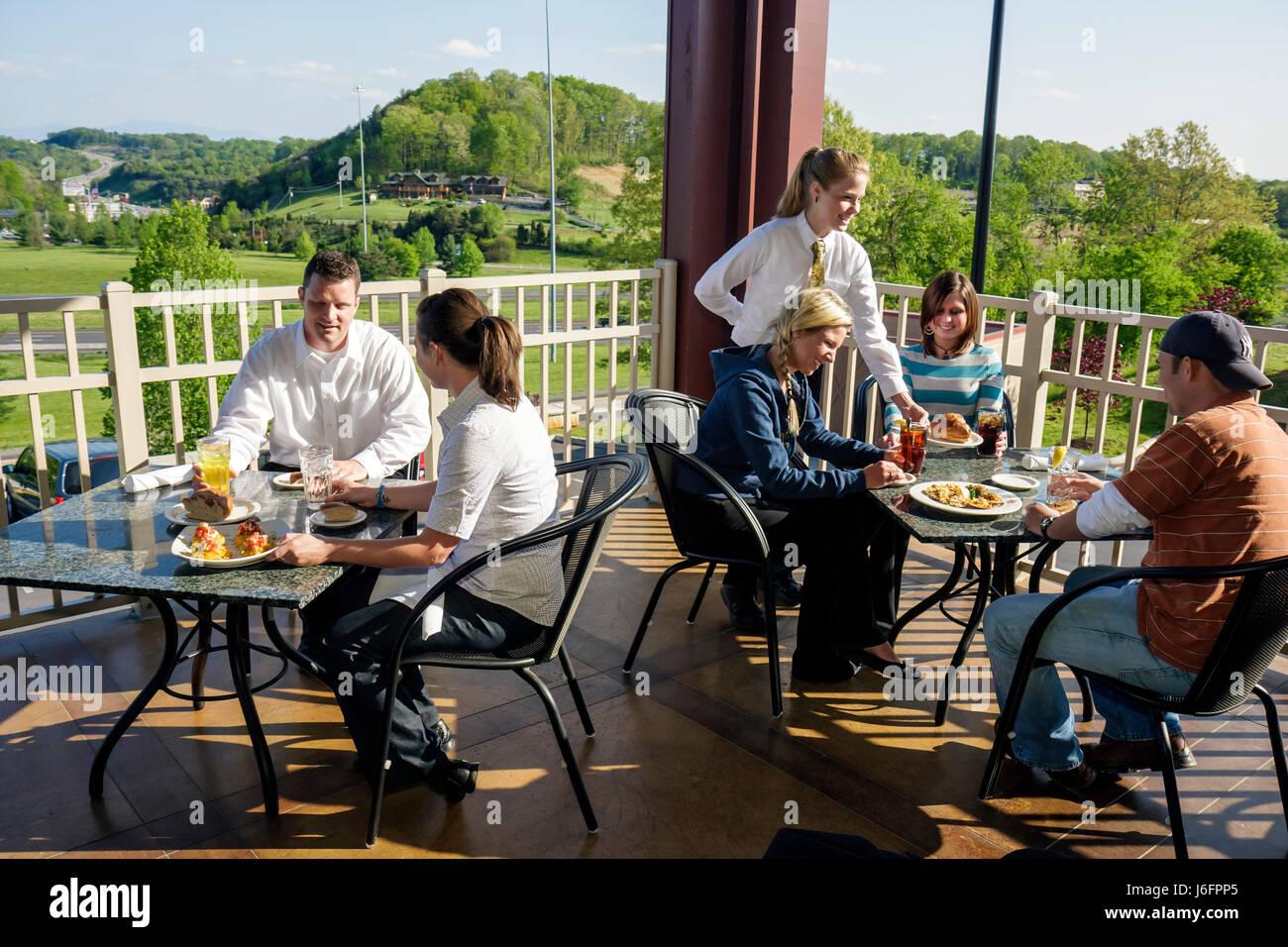 Tennessee Sevierville Kodak Chop House restaurant - Stock Image
