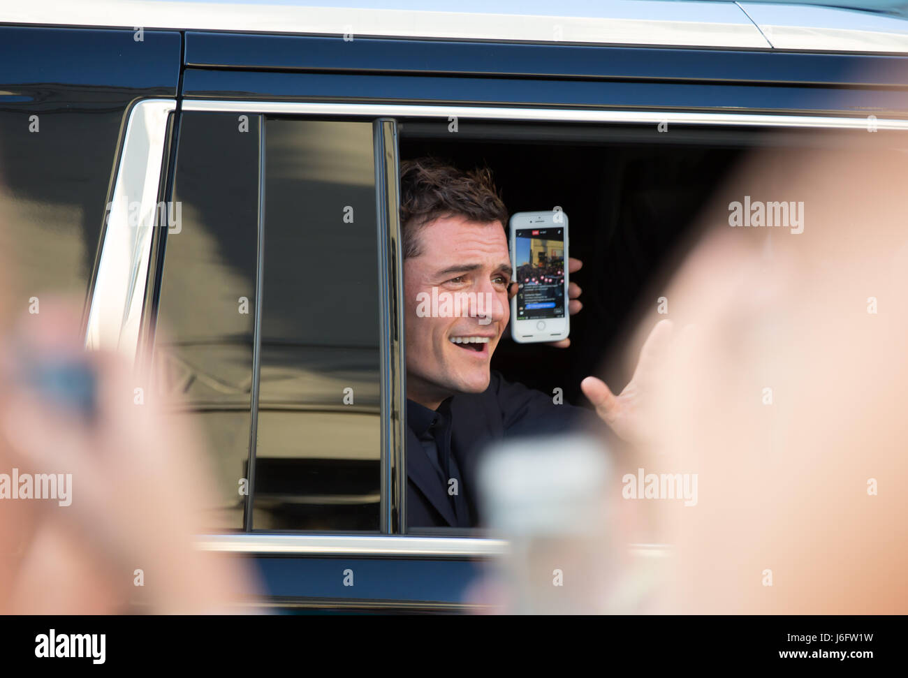 Actor Orlando Bloom attends the premiere of Disney's 'Pirates Of The Caribbean: Dead Men Tell No Tales' - Stock-Bilder