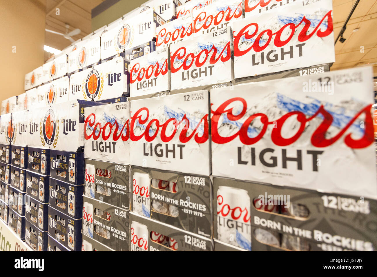 Case Of Coors Light Cases Of Beer Stock Photos Cases Of Beer Stock Images .  Case Of Coors Light ...