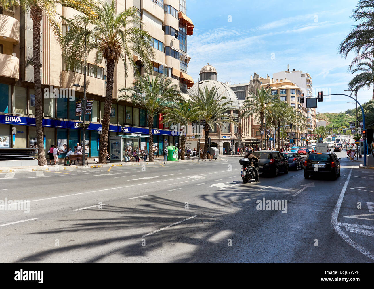 Alicante street stock photos alicante street stock - Stock uno alicante ...