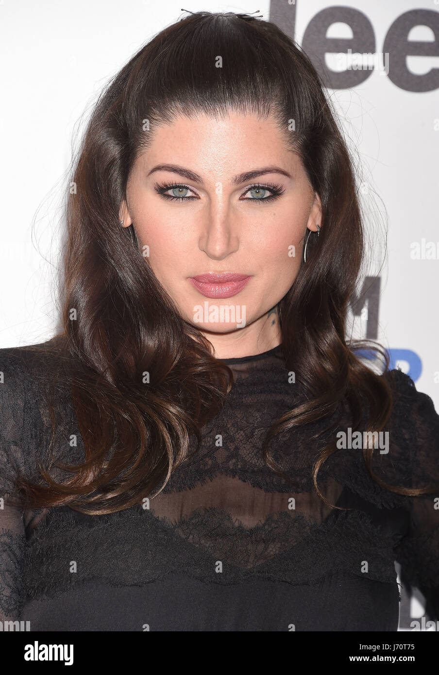 TRACE LYSETTE American trans-gender actress in February 2017. Photo Jefrey Mayer - Stock-Bilder