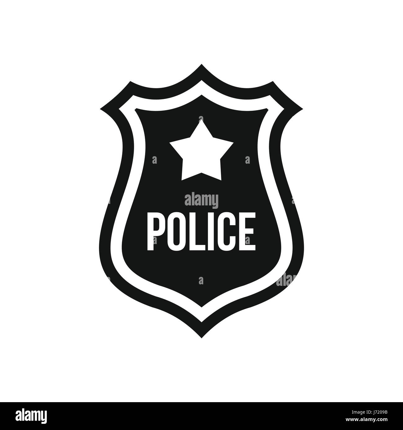 Police Badge Black Stock Photos & Police Badge Black Stock ...