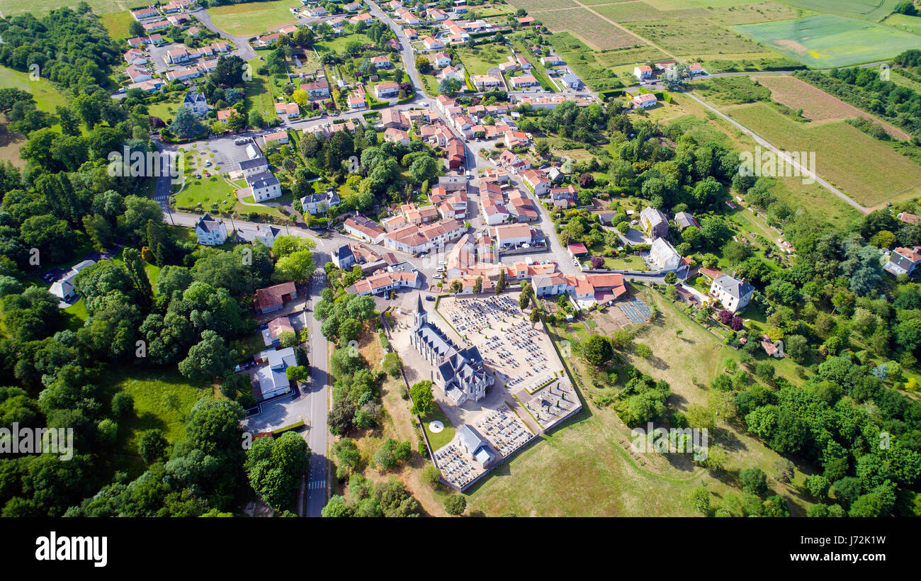 Aerial Village France Not Roun Stock Photos Amp Aerial
