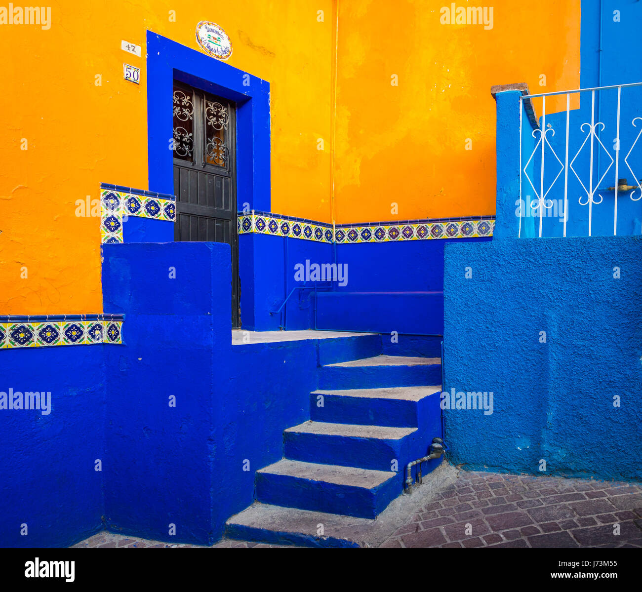 ------ Guanajuato is a city and municipality in central Mexico and the capital of the state of the same name. It - Stock Image