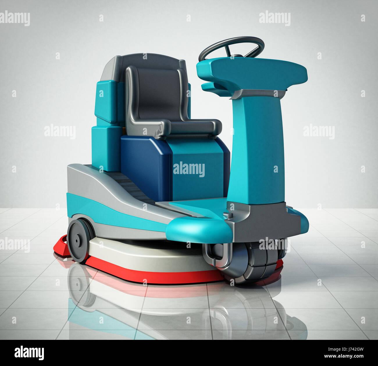 Floor Cleaning Machine Stock Photos Amp Floor Cleaning