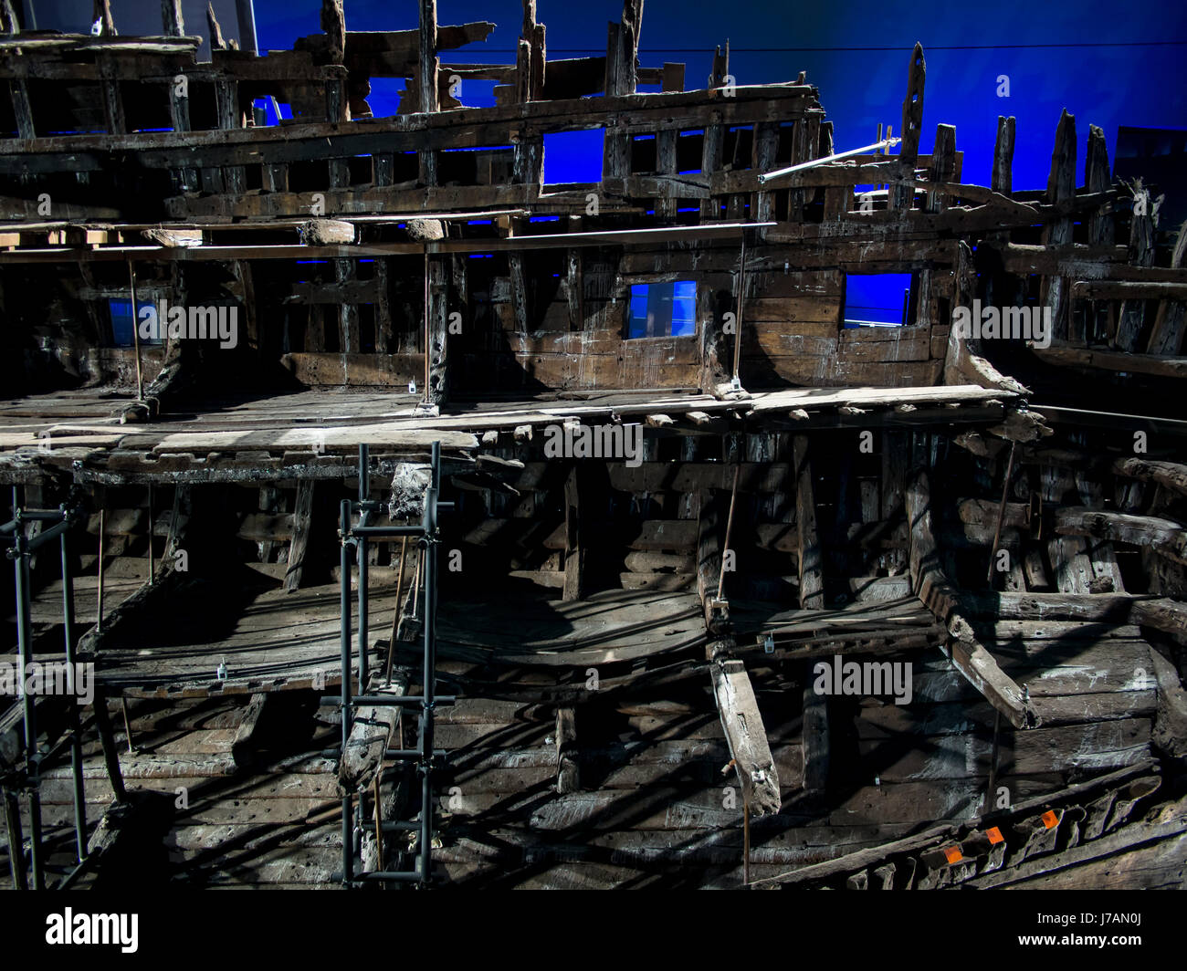 a-section-of-the-tudor-warship-the-mary-