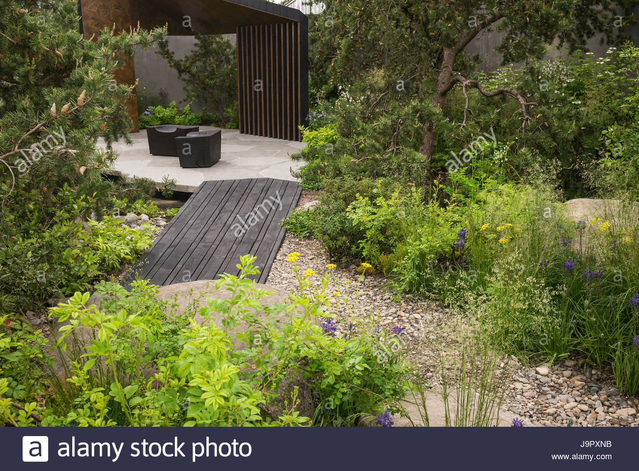 The royal bank of canada garden at the rhs chelsea flower Winner chelsea flower show 2017