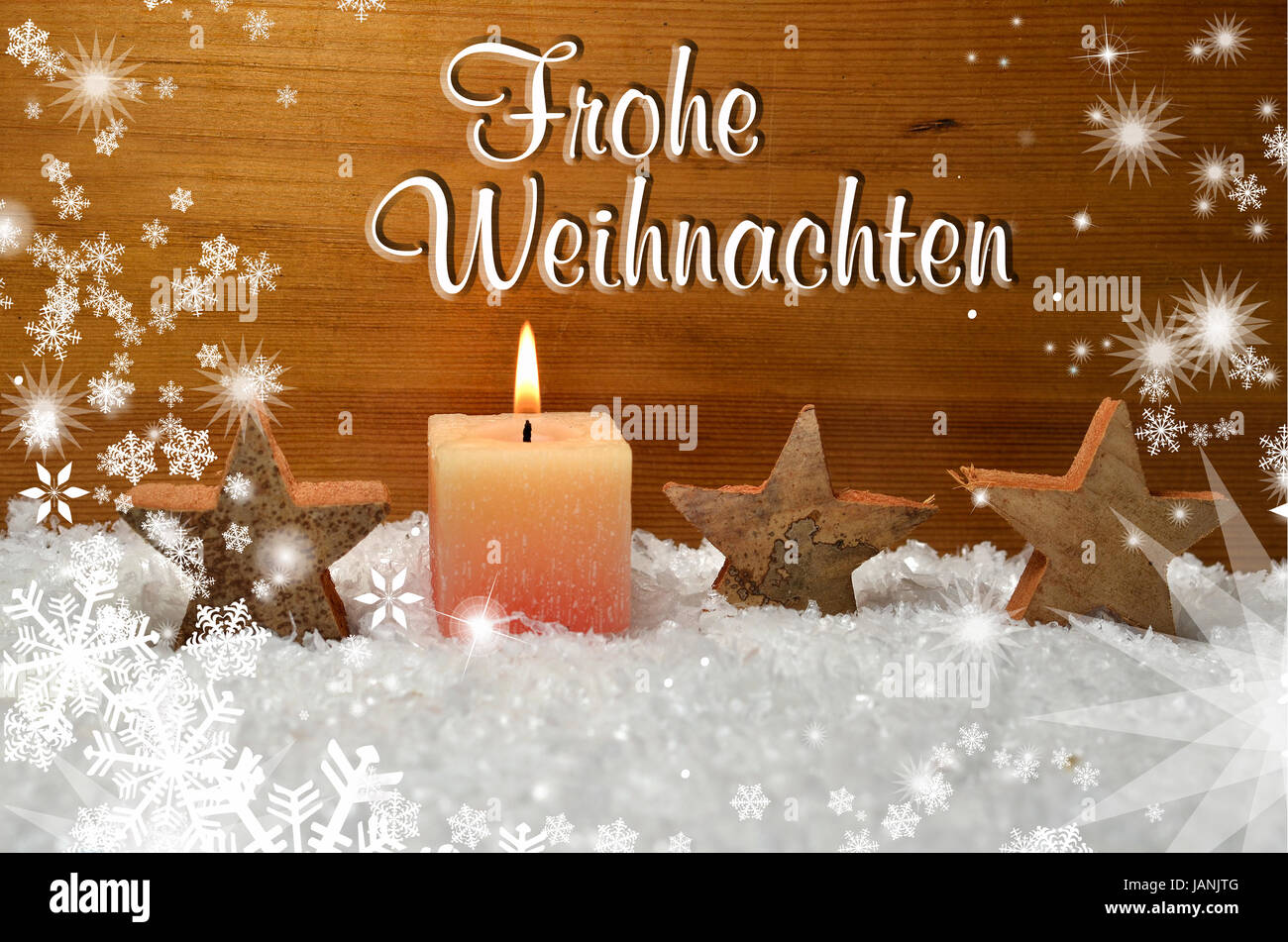 frohe weihnachten dekoration advent stock photo royalty. Black Bedroom Furniture Sets. Home Design Ideas