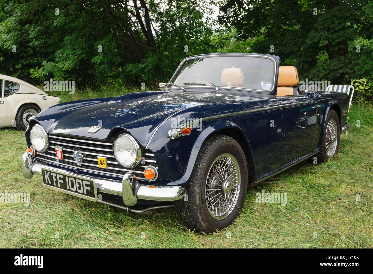 triumph tr5 convertible a classic british two seat sports car or stock photo royalty free image. Black Bedroom Furniture Sets. Home Design Ideas