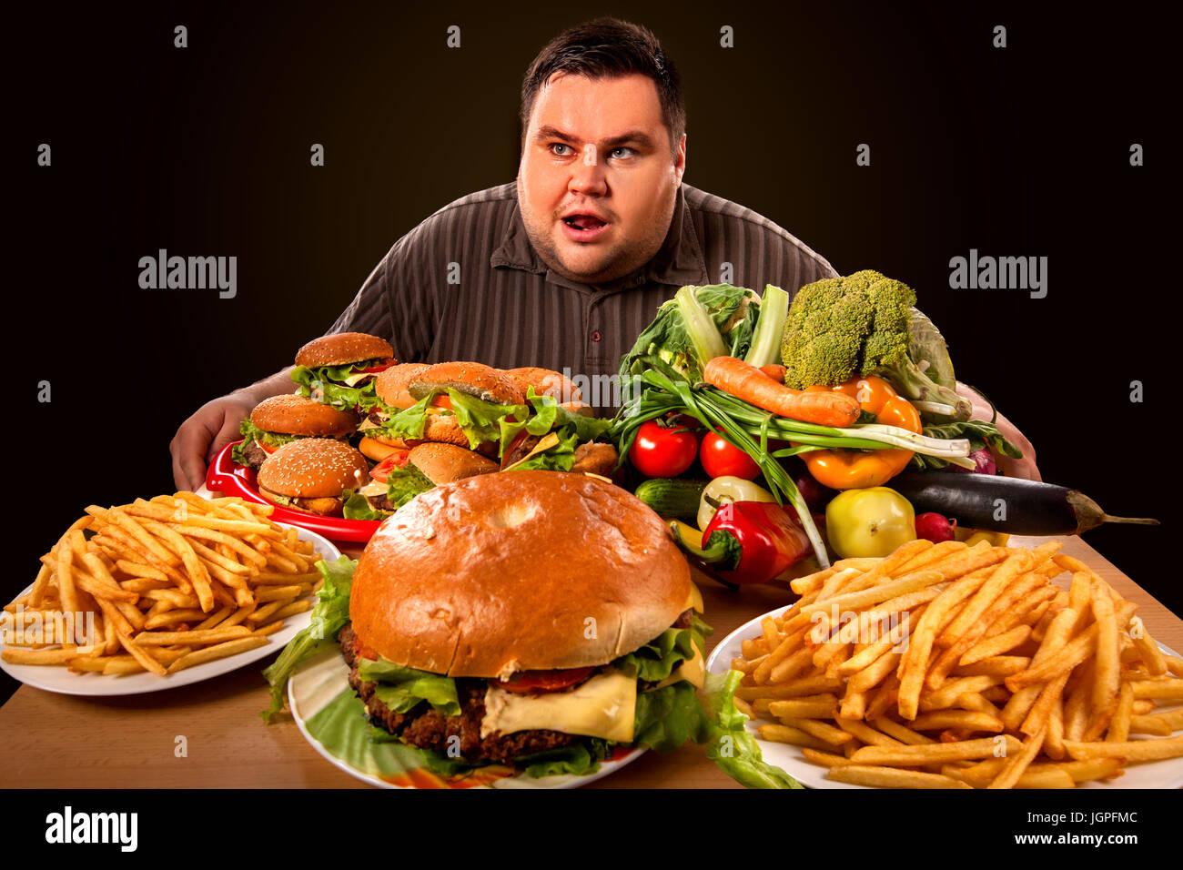 Big Choice Of Fast Food