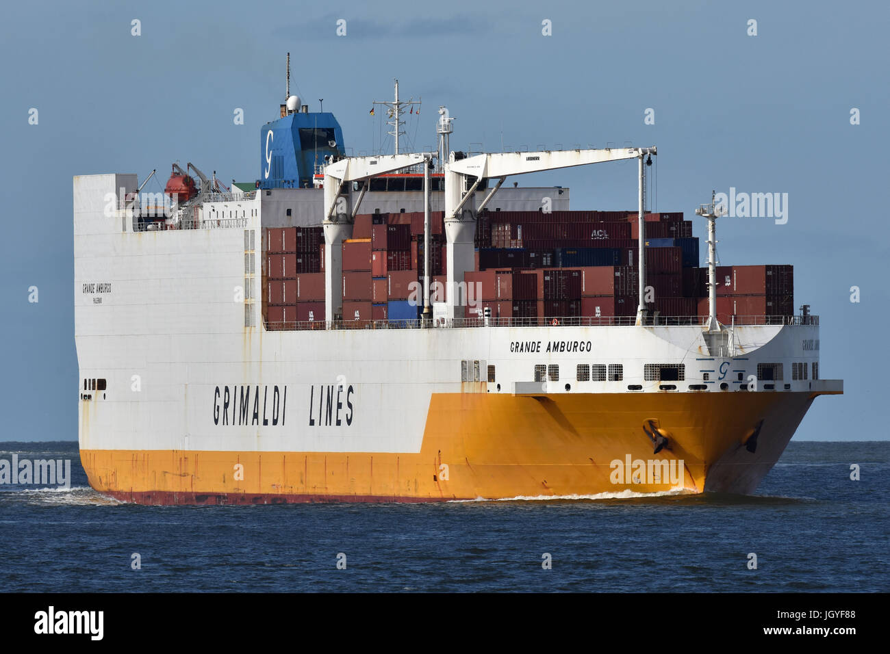 ConRoVessel Grande Amburgo Stock Photo