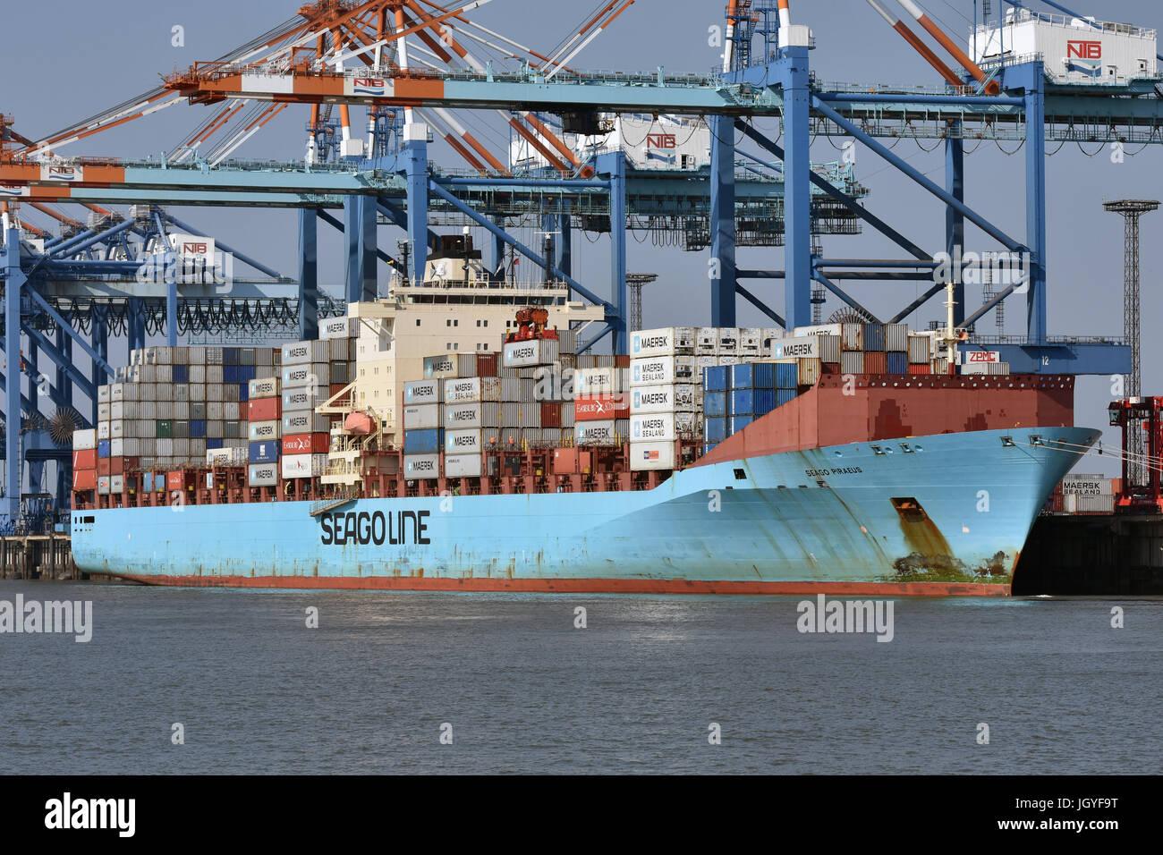Seago Piraeus Stock Photo