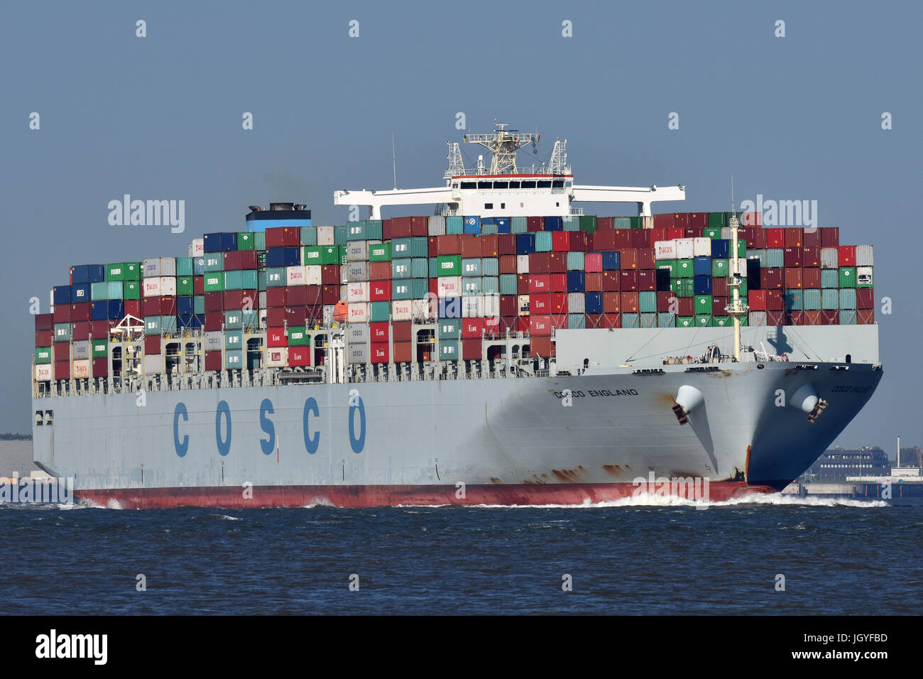 COSCO England Stock Photo