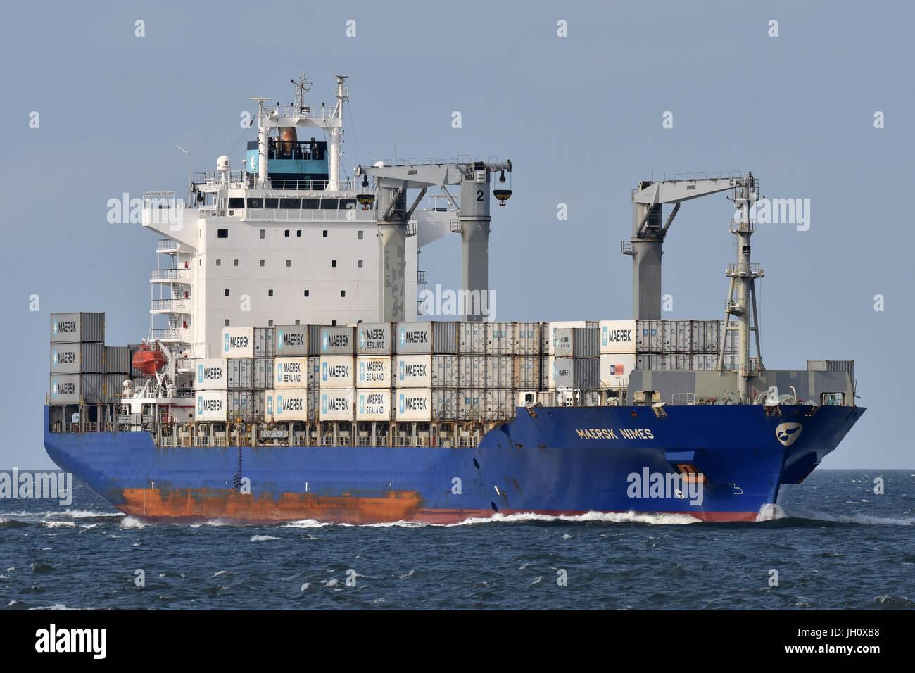 Maersk Nimes Stock Photo