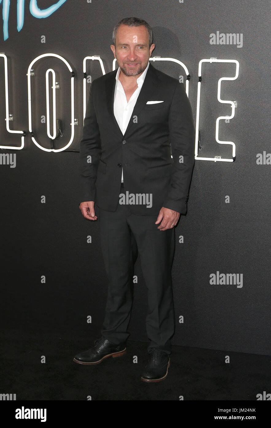 July 24, 2017 - Los Angeles, U.S. - 24 July 2017 - Los Angeles, California - Eddie Marsan. ''Atomic Blonde'' - Stock Image