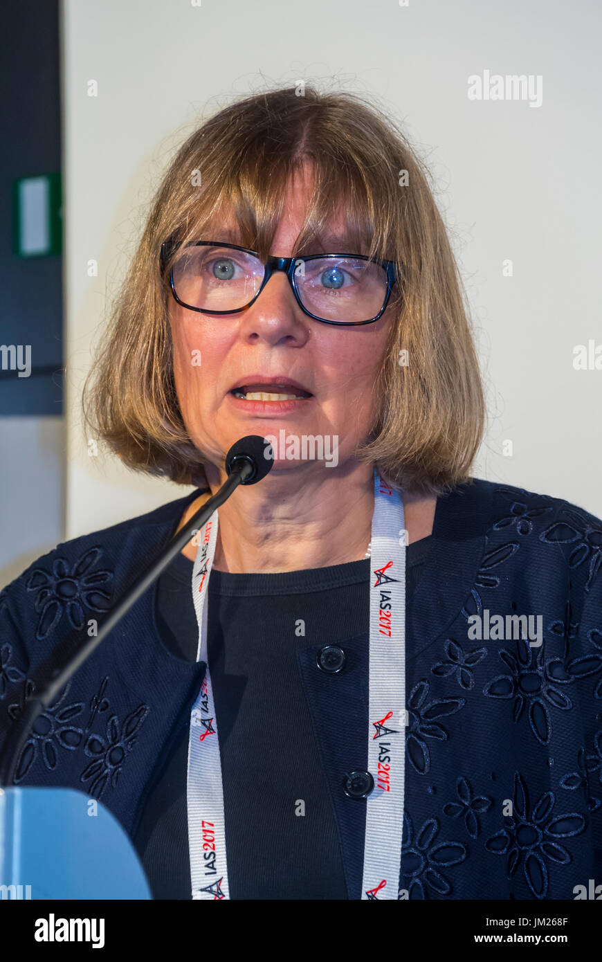 Paris, France. I.A.S. International AIDS Society Congress, Rachel Baggaley, World Health Organisation (WHO) - Stock Image