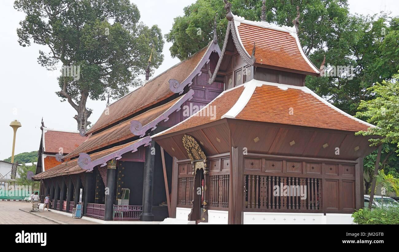 Thai architecture stock photos thai architecture stock for Thailand architecture