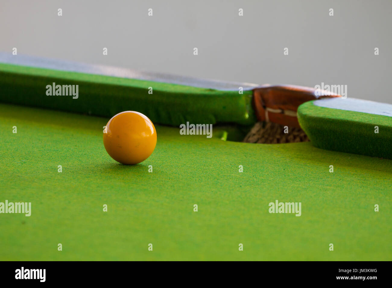how to set up billiards