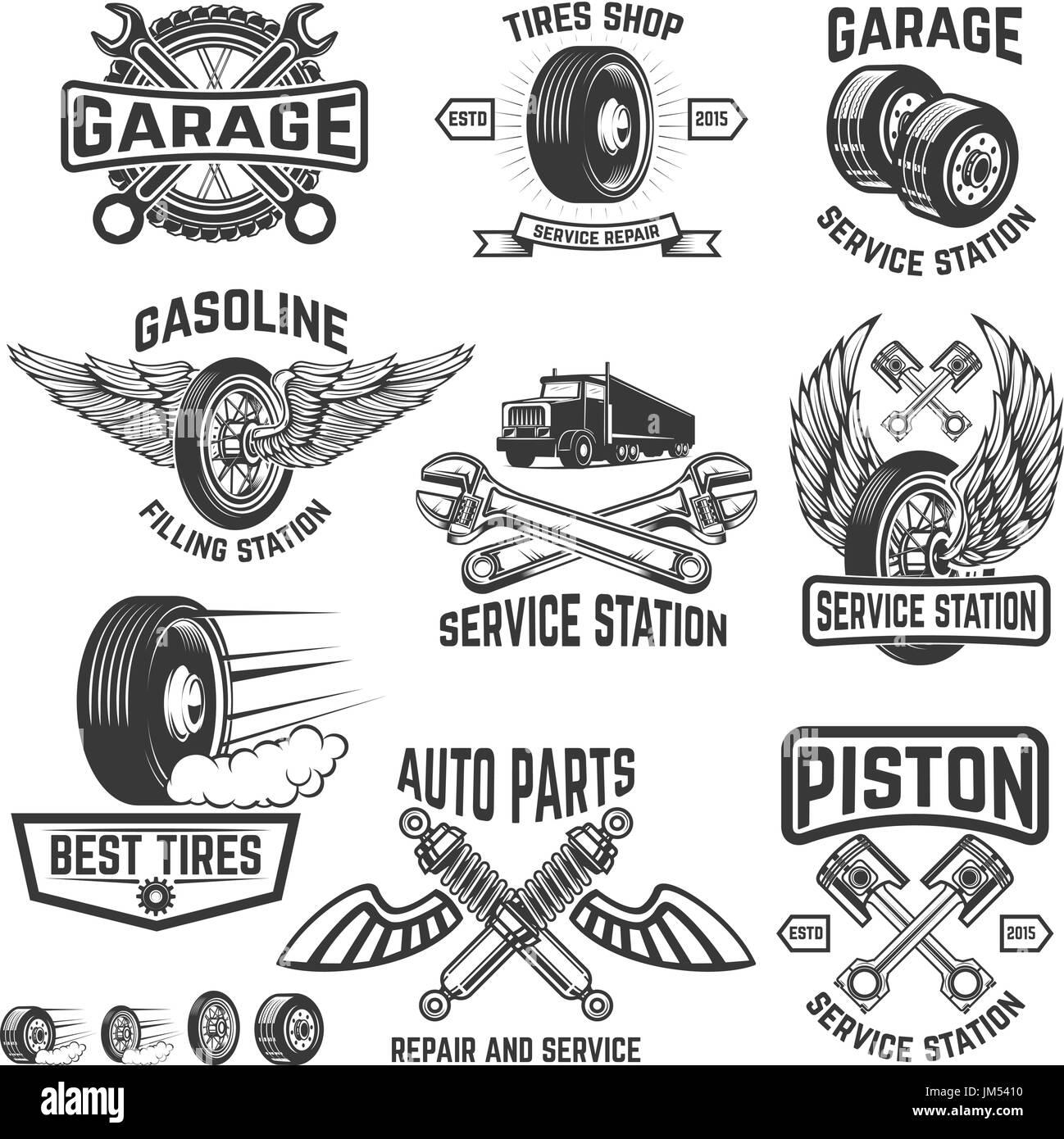 Fuel garage black and white stock photos images alamy for Garage jm auto audincourt