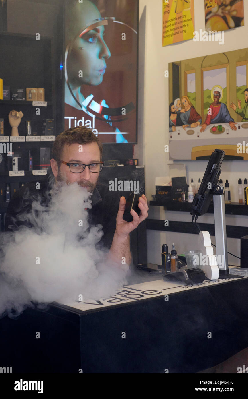 how to open a vape shop uk